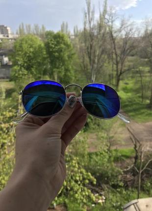 Очки с сине фиолетовыми линзами
