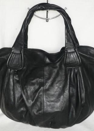 Letizia италия качественная большая мягкая натуральная кожаная сумка шопер шкіряна сумка