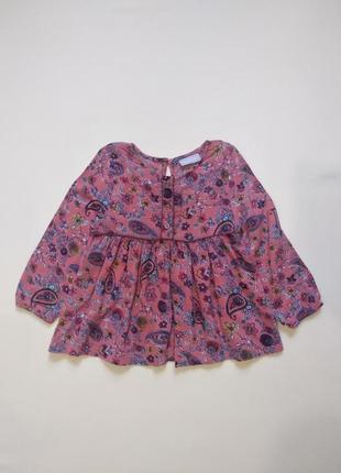 Вискозная блуза блузка рубашка matalan 4-5 лет 100% вискоза!!!