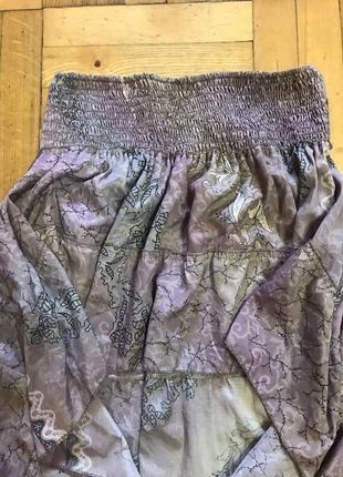 Ассиметричная юбка с воланом5 фото