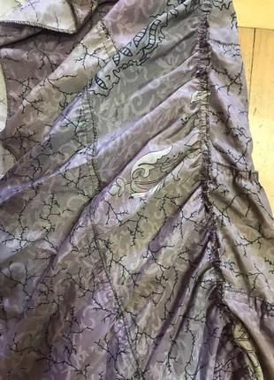 Ассиметричная юбка с воланом8 фото