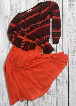 Яркий и теплый свитер на осень