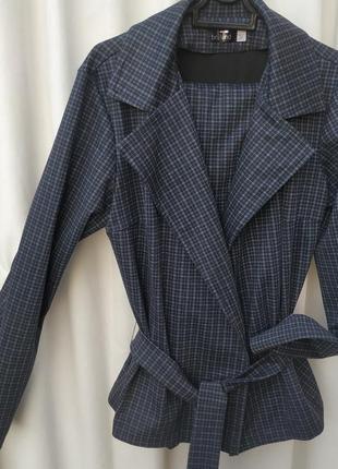 Жакет брюки брючный офисный трикотажный костюм