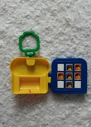 Игрушка крестики нолики с лего