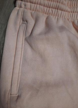 Пудрові спортивні штани3 фото