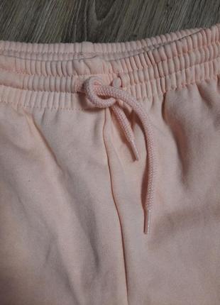 Пудрові спортивні штани2 фото