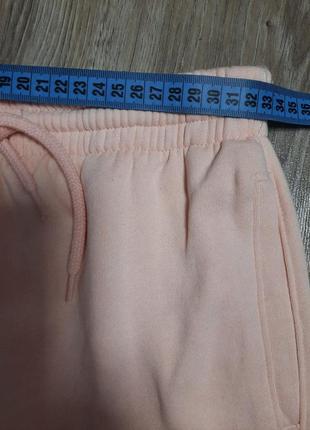 Пудрові спортивні штани7 фото