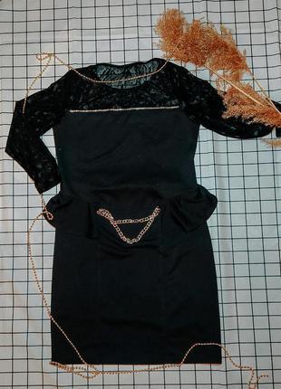 Платье чёрное 🖤
