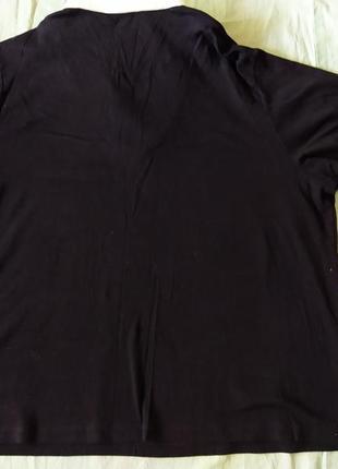 Полувер с имитацией белой рубашки7 фото
