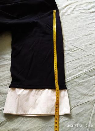 Полувер с имитацией белой рубашки6 фото