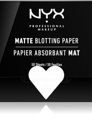 Nyx professional matte blotting paper