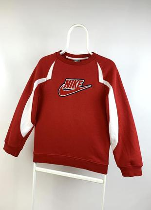 Оригинальный винтажный свитшот nike vintage big logo swoosh