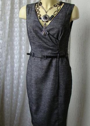 Платье сарафан осень зима офис миди orsay р.44 7798