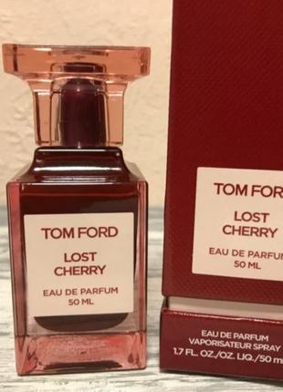 🍒tom ford lost cherry  🍒  оригинал затест 5 мл