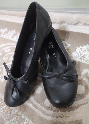 Туфли балетки gabor g 5 размер 38