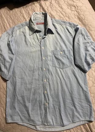 Рубашка летняя приятная к телу xl xxl