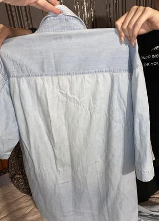 Рубашка свободная для стильной женщины xl xxl