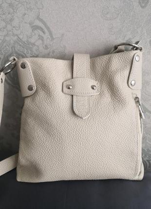 Стильная кожаная летняя сумка genuine leather, borse in pelle, италия💣💣👜🏵️🔥