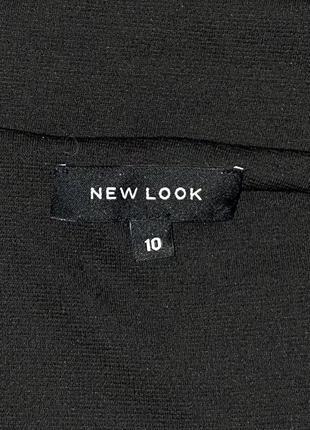 Удлинённый чёрный жилет с разрезами7 фото