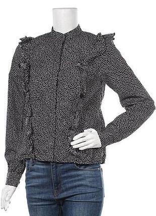 Шикарная блуза h&m petit с воланами 11-12 152