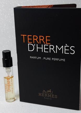 Hermes terre d'hermes parfum парфюмированная вода