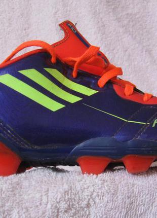 Бутсы adidas f50 traxion ag размер uk 10 Adidas 0c4198ac63176
