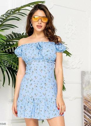 Платье в цветочный принт 🌸