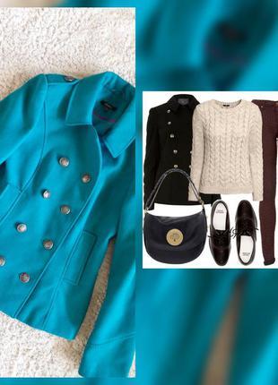 Пальто куртка милитари dunnes uk10eur38