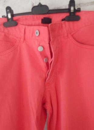 Яркие джинсы h&m