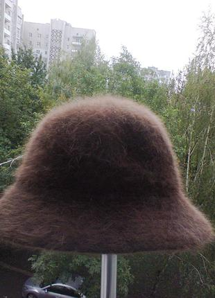 Шляпа  из ангоры.