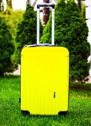 🔥акция 🔥большой чемодан поликарбонат пластиковый валіза велика пластикова доставка