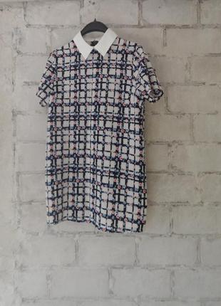 Блуза шелковая удлиненная hearts&bows