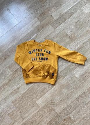 Стильный крутой оригинальный свитшот свитер кофта chicco 98 размер на 3 года