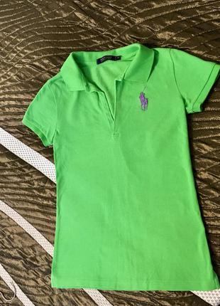 Очень крутая футболка поло ralph lauren