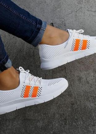 Белые кроссовки  / кроссовки летние