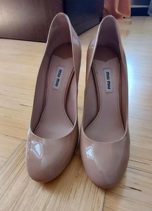 Туфли классические miu miu