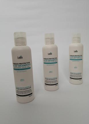Професійний беcщелочной шампунь lador damage protector acid