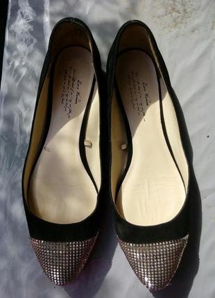 Шикарные туфли zara привезенные из заграницы