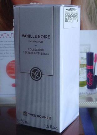 Парфюмированная вода черная ваниль vanille noire ив роше yves rocher 50мл