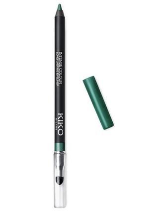 Гелевий олівець для очей kiko intense colour long lasting eyeliner 08 олівчик каял