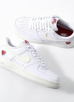 Кроссовки nike air force 1 «valentine's day»