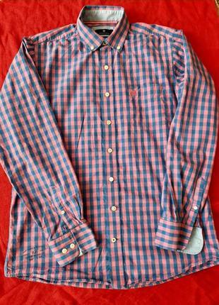 Мужская рубашка сорочка с длинным рукавом