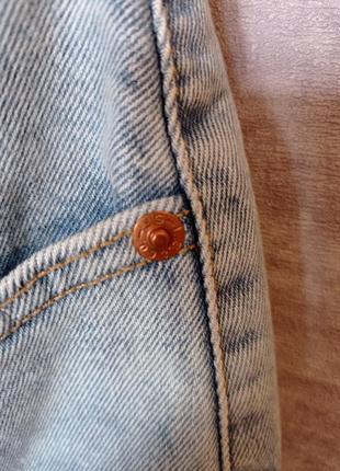 Джинсовая юбка levi's premium (levis, левайс , левис) оригинал7 фото