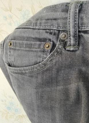 Джинсы мужские женские levis серые w30 l30 модель 5102 фото