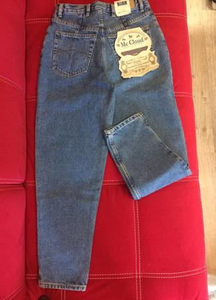 Новые олдскульные джинсы бойфренды