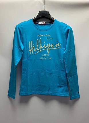 Женская футболка с длинным рукавом tommy hilfiger