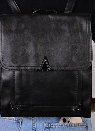 Рюкзак - сумка эко кожа 264223 black