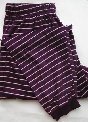 Пижамные штаны велюр м 12-14 хл 18-20 primark