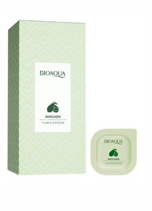 Маска для глубокой очистки кожи лица с экстрактом авокадо bioaqua avocado deep cleansing
