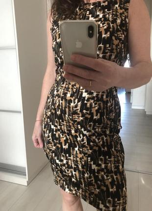 Красивое платье натуральный состав